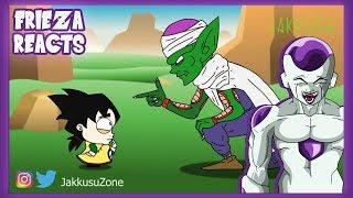 FRIEZA REACTS TO DRAGON BALL Z PARODY PICCOLO TRAINS GOHAN!