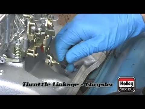 How To Attach Mopar Throttle Linkage To A Holley Carburetor