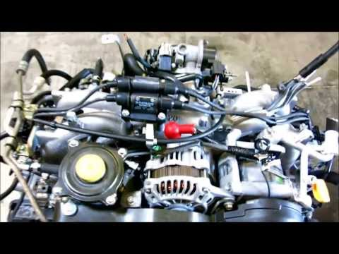 JDMAllianceUSA.com - JDM Subaru EJ20 2.0L SOHC Engine Video - EJ20-A961148