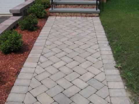 How to build brick steps and brick walkway youtube for How to build a brick house step by step pdf