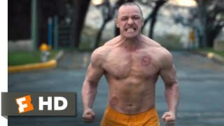 Glass (2019) - Parking Lot Fight Scene (6/10)   Movieclips