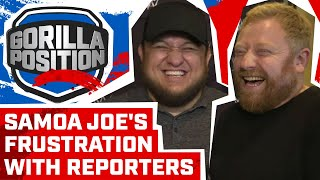 Samoa Joe on annoying reporters, Vince McMahon, not being champion & his wrestling legacy
