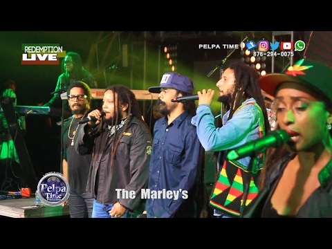 The Marley family REDEMPTION LIVE