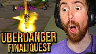 Asmongold Reacts To UberDanger's Final Quest | World of Warcraft Classic (1-60)