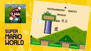 Outrageous Mario World • Super Mario World ROM Hack (SNES/Super Nintendo)