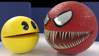 Pacman Vs Red Monster Pacman [The Remake]