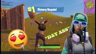 FORTNITE SEXY TEKNIQUE OUTFIT🍑🍑 GAMEPLAY +VICTORY ROYALE. SEASON 4 BATTLE PASS. MOBILE GAMEPLAY.