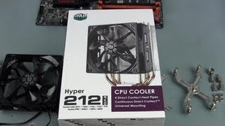 How to Install a Cooler Master Hyper 212 Evo CPU Cooler