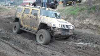 Hummer H2 Stuck in mud