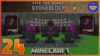 StoneBlock 2 Modpack Ep 24 - Crimson Rites (Finishing Thaumcraft)  - Modded Minecraft