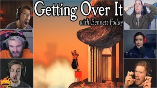 "Gamers Reactions to Falling Down at ""Orange Hell""  