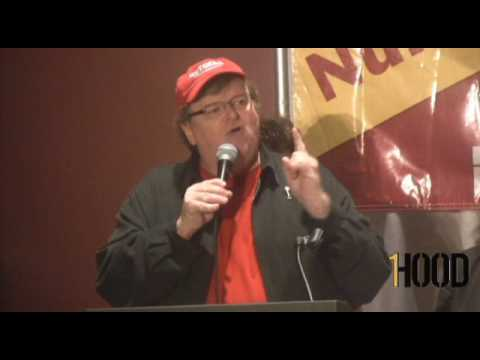 Michael Moore Press Conference for Capitalism: A Love Story at AFL-CIO Conference Part 2