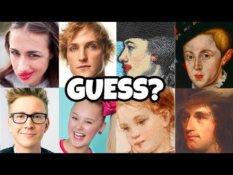 Guess the YouTuber Selfie Match Google Art Challenge with Fake YouTubers. Totally TV.