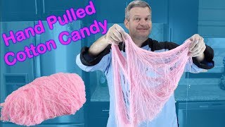 Hand Pulled Cotton Candy | How to Make Dragon