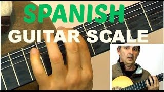 How to Play a Spanish Guitar Scale For Improvising | Learn This Easy Am Harmonic Scale
