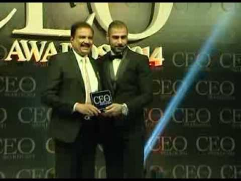 Dr. Azad Moopen honoured with special CSR award at Indian CEO Awards