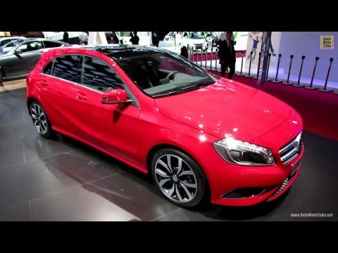 2013 Mercedes-Benz A180 Blue Efficiency - Exterior and Interior Walkaround - 2012 Paris Auto Show