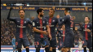 [HD] Paris Saint-Germain - Guingamp // Coupe de la Ligue 09/01/2019 [FIFA19]