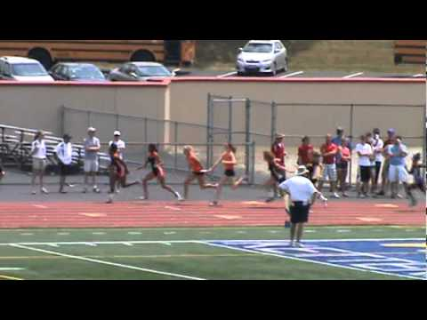 North Union High School - GIRLS 4 X 100 2012 REGIONAL FINALS - (50.81).MPG