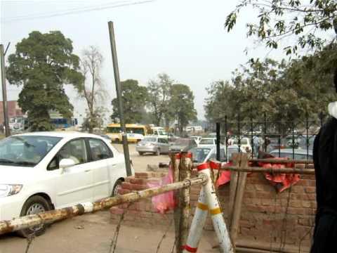 Road near Lahore Fort and Badshahi Mosque Lahore Pakistan