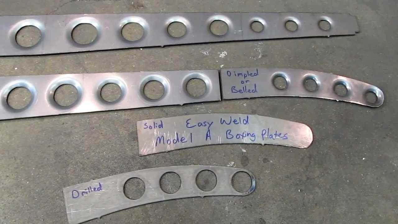 Belled Frame Boxing Plates