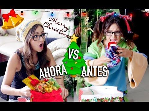 NAVIDAD ANTES VS AHORA | CAELI