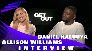 GET OUT - Allison Williams and Daniel Kaluuya INTERVIEW