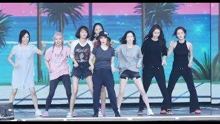 170812 소녀시대 홀리데이 리허설 직캠 SNSD Rehearsal 4K fancam - Holiday (DMZ 평화콘서트) by Spinel