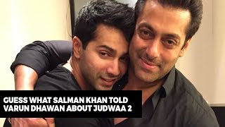download lagu Salman Khan's Warning To Varun Dhawan  Judwaa 2 gratis