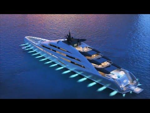 Топ 5 Яхт будущего.Top 5 Yachts of the Future