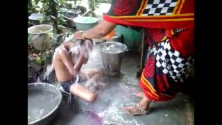 MOTHER BATHING CHILD | Short Film 2016 | Yes Foundation |