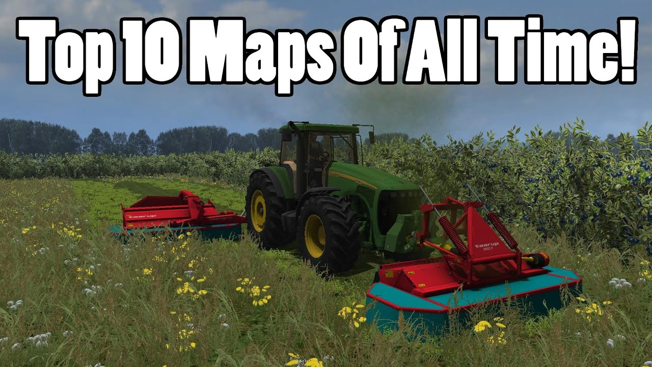 Farming Simulator 2013 The Top 10 Maps Ever Youtube