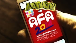 Teaser for AFA 2014 (Anime Festival Asia)