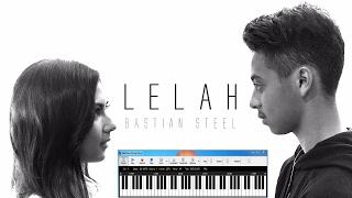 Bastian Steel - 💔  Lelah Dengan   Dr Not Angka  Midi Piano Cover