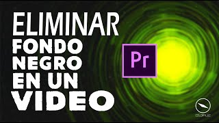 Adobe Premiere Pro 2017 Tutorial - ¿ Cómo eliminar Fondo Negro en un Video ? @ElCreativoAlex