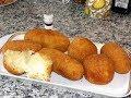 Yuca rellenas de queso y carne