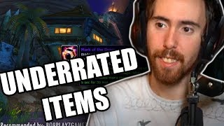 "Asmongold's Reaction ""20 Underrated Items in Classic WoW"" by HamsterWheel"