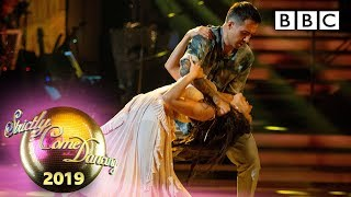 Will and Janette Couple's Choice Contemporary to '7 Years' - Week 5 | BBC Strictly 2019
