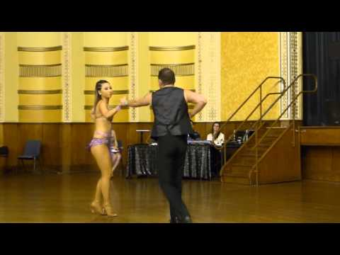 2015 Australian Bachata Championship - Pro/Am Freestyle - Nestor and Teanne