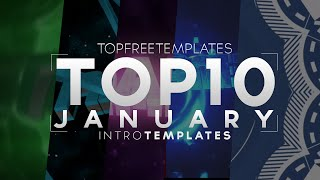 (BEST) Top 10 January Intro Templates 2015! - SONY VEGAS, AFTER EFFECTS & C4D 2015