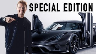 -20 KG(!) PAINT JOB FOR 1/8 LIMITED EDITION KOENIGSEGG | NICO ROSBERG | VLOG