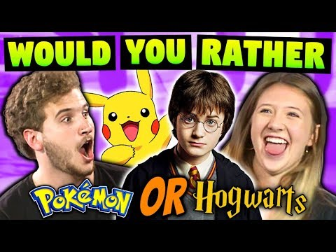 TEENS & ADULTS PLAY WOULD YOU RATHER!