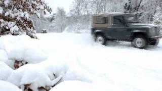 Land Rover Defender 90 Drift