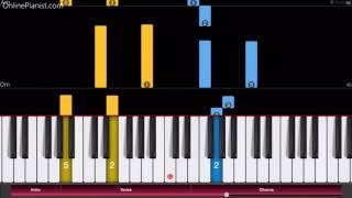 Download Lagu Sword Art Online - Crossing Field - Piano Tutorial - Easy Version Gratis STAFABAND