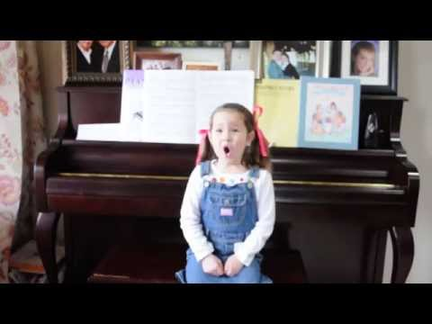 """""""Glorious"""" by David Archuleta from Meet the Mormons Cover By 4-year old, Hope W."""