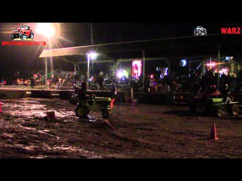 Garden Tractor Derby Finals At Wayne County Fair By Unique Motor Sports 2015 Camera 1