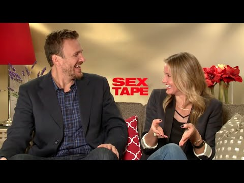 Jason Segel and Cameron Diaz interview - Sex Tape (2014) HD