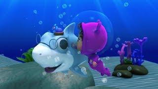 Bài Hát Bé Cá Mập Baby Shark - Liên Khúc Nhạc Thiếu Nhi Tiếng Anh - Phim Hoạt Hình 3D - OhoHTV