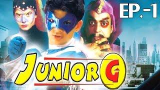 Junior G Ep.1[Hindi]| Superhero Action Adventure | Fights Evil | Fantasy Story