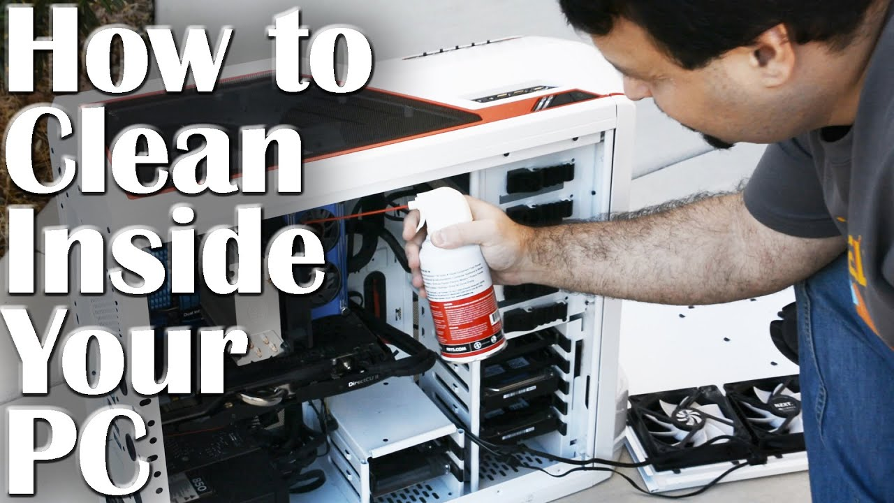 how to clean your pc